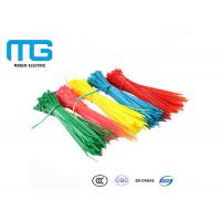 Quality Fireproof Nylon Cable Ties With Stand Excellent High Temperature Resistance for sale