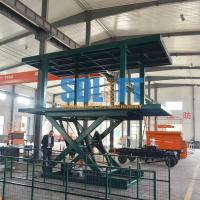 Quality 3T 2.5M Double Deck Hydraulic Car Lifts for sale