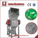 crushing machine fiber pipe crushed waste plastic crushing line