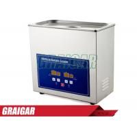 Quality Medical Dental Digital Heated Ultrasonic Cleaner 6.5L PS-30A 40KHz with Free Basket for sale
