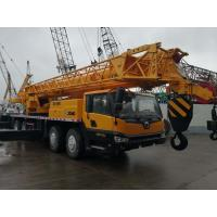 Quality Diesel Fuel Second Hand Truck Mobile Crane 50ton Lift Capacity 2013 Year for sale