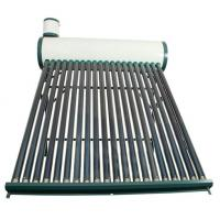 China CE household Non-pressurzied solar hot water heater galvanized steel series on sale