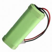 Quality NiCd C Size 3,000mAh Rechargeable Battery Pack, Voltage of 7.2V for sale