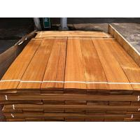 Quality Natural Burma Teak Flooring Veneer, Sliced Wood Veneer for sale