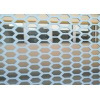 Quality Hexagonal 1 Inch Hole Perforated Metal Mesh Wind Dust Fence For Decorative for sale