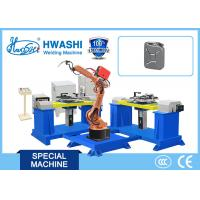 China 1100 Kg Industrial Welding Robots 1 Year Warranty For Automobile / Car Oil Tank on sale