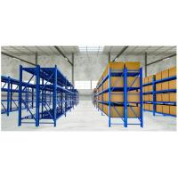Quality Combined Wide Span Shelving Teardrop Warehouse Pallet Racks For Light Storage for sale