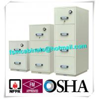 Quality Steel Fireproof And Waterproof File Cabinet With Drawers For Documents for sale