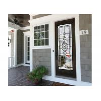 Buy cheap weathered Easier to Clean Tempered Sliding Glass Door Surface sketch from wholesalers