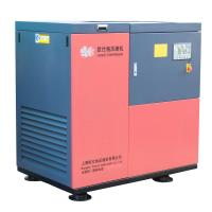 China Stationary Screw Air Compressor For Color Sorter , High Pressure Air Compressor Belt Drive on sale