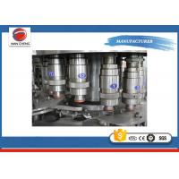 Quality Small Scale 3 In 1 Fruit Juice Filling Machine 380V / 220V 3kw 2000bph For Small Factory for sale