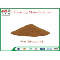 Quality 100% Purity Synthetic Dyes C I Vat brown 68 Brown G Not Dissolved In Water for sale