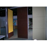 Quality Decorate Ultrahigh Movable Partition Walls Board With Retractable Top for sale
