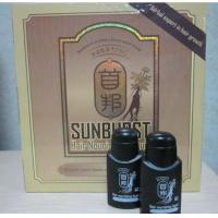 China Real result sunburst hair growth 6 in1 shou bang Additional Hair Dense hair liquid on sale