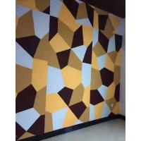 Quality Sound Absorbing Acoustic Wall Panels Hard Interior Soundproof Polyester Fiber Board for sale