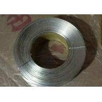 Buy No - Joint Galvanized Flat Wire Anti Corrosion With Low Carbon Steel Q195 at wholesale prices