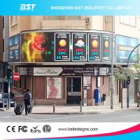 Quality P6 High Brightness advertising led screen IP65 16 Bit with 3G / 4G wireless controller for sale