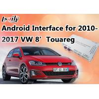 """Quality Reverse Camera Android Auto Interface Navigation Box Made for VW Touareg 8"""" RNS850 System for sale"""