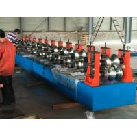 Quality Freeway Barrier Profile Roll Forming Machine Cold Bending Use Multi-rollers Stations by Huge Power 45 Kw Motor for sale