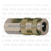 Quality Brass Nickel Plated Europe Quick Coupler Female Thread for sale