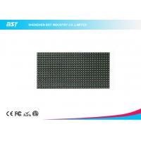 Quality P10 LED Display Module 320mm X 160mm / 32 X 16 Pixels Video Greenl Color Led Panel for sale