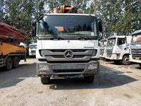 Quality BENZ--ZOOMLION Second Hand Concrete Mixer Trucks With Euro IV Diesel Engine for sale