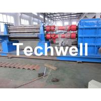 Quality 3 - 6mm Corrugation Rolling Machine With 45kw Motor and PLC Control Box for sale