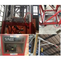Quality 5 Rack Modulus Material Lift Elevator , Material Hoisting Equipment With Reduction Ratio 1 / 18 for sale