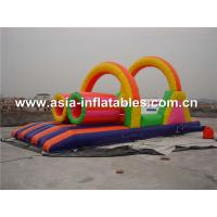 China Outdoor Inflatable Obstacle Course Games, Exterme Inflatables Fun For Kids on sale