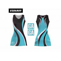 Quality Sports Team Clothing Sublimated Netball Dresses With Netball Bibs for sale