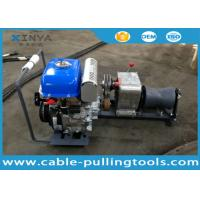 China Light Weight JJM1Q YAMAHA Cable Pulling Winch 1 Ton , Gasoline Powered Winch on sale