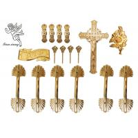 Pale Gold Funeral Plastic Coffin Handles African Style H9003 Customized