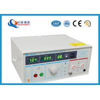 Quality IEC Standard Hipot Test Equipment Automatically Control For Withstanding Voltage Test for sale