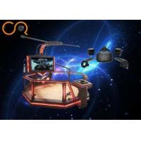China 1kw Virtual Reality Simulator With 360 Degree Flight Simulator Motion Platform on sale
