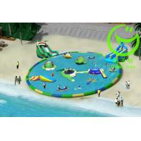 Buy high quality large inflatable swimming pool with warranty 48months GTWP-1633 at wholesale prices