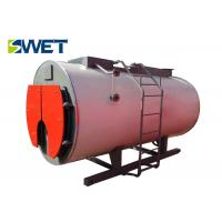 Simple Structure Gas Fired Water Boiler , Safety Operation Industrial Water Boiler
