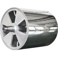 Quality Large Diameter Mirror Roller Non-Standard Product , Leather Embossing Rolls for sale