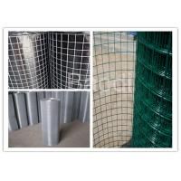 Buy cheap 2 Mesh Galvanized Hardware Cloth Poly Coated 19 Gauge Dark Green Color from wholesalers