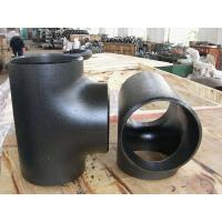 Quality ASTM A234 WPB Equal Tee Reducing Tee for sale