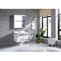 Quality Modern Washbasins PVC Bathroom Vanity With Metal DTC Runners And Hinges for sale
