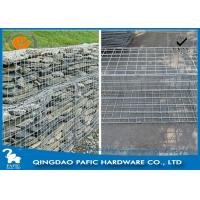 Buy Iron Wire Steel Gabion Baskets , φ4,5mm Wire Cages For Landscaping at wholesale prices