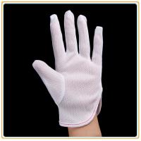 Quality Anti-static Polyester Gloves PVC Dotted Gloves for sale