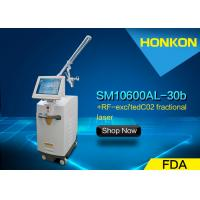 Quality Professional Co2 Fractional Laser Machine , Pigment Spot Removal Skin Whitening Machine for sale