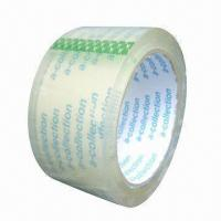 Quality BOPP Adhesive Packing Tape with Acrylic Glue, Various Colors are Available for sale