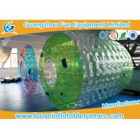 Quality Water Roller Inflatable Wheel Ball , Inflatable Hamster Wheel for Humans for sale