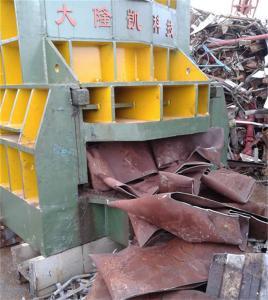 Quality CS Scrap Steel Shearing Machine With Manual Belting / Shear Cutter Machine for sale