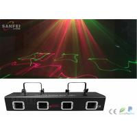 Quality 4 Eyes Stage Laser Line Projector For DJ Disco Light Bar Light Multicolor Laser Light for sale