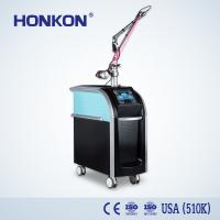 China 6nm Pulse Width 500ps Picosecond Laser Tattoo Removal Machine Floor Standing on sale