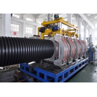China DWC Corrugated Machine HDPE Double Wall Corrugated Pipe Line SBG 800 Making Drainage Pipes Electrical Ducts on sale