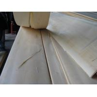 Sliced Cut Natural Clear Pine Wood Veneer Sheet